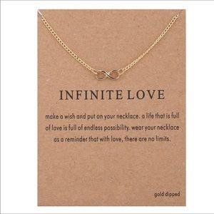 Jewelry - Infinite love dainty necklace